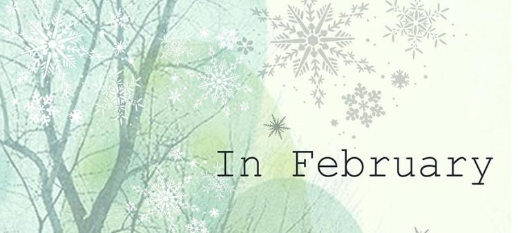 In February, Larissa Reid, cover